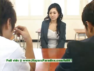 Sora Aoi innocent XXX japanese student is getting fucked in the classroom