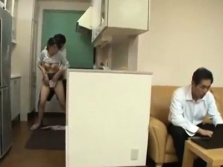Asian stepmom are harassed by the brush son - Pt2 On HDMilfCam,com