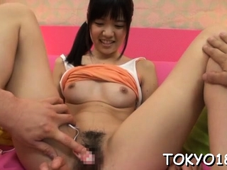 Nude japan teen gets 2 studs here ravish her splendid pussy