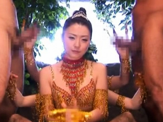 Fellow enjoys pov blowjob all over yoke japanese sweethearts
