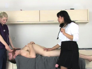 Nymphos cash-drawer guys butthole with monster belt cocks an99TpL