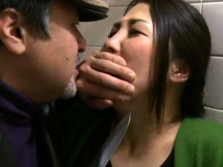Lustful oriental aged gets her mouth and pussy fucked wildly