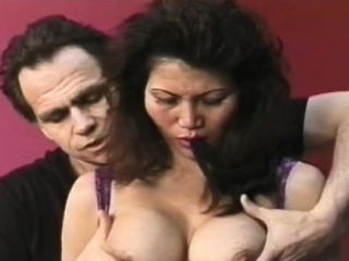 Hot-tempered minx is touching the brush wet fanny