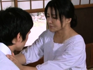Mindblowing blow job from a sexy mature japanese venerated