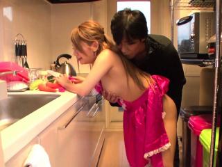 Mariru Amamiya is pettifoggery on her husband uncensored