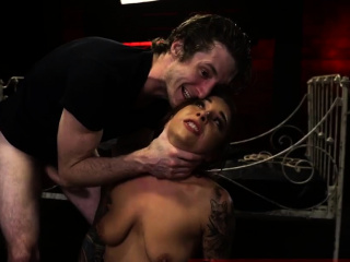 Squirt bdsm on fucking gear and handjob domination