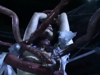 Tentacles Enjoying a Helpless Girl!