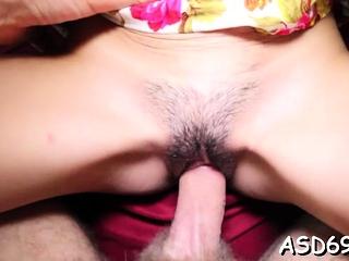 Delightful japanese Kiana flirts with a lover
