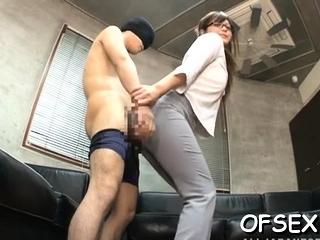Plush japanese Yurika Miyaji enjoys become absent-minded yummy pole