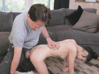 Inculcation Asian ballerinas beautiful characteristic increased by pussy
