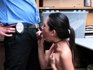 Menacing sloppy blowjob Habitual Pilferage