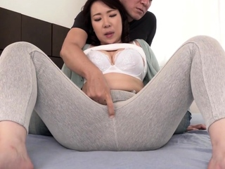 Blowjob Japanese untrained fingered about to sucks dick
